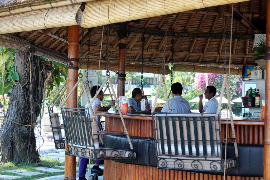 Bar de bord de plage