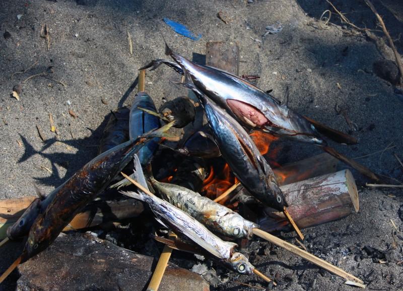Lombok poisson grillé