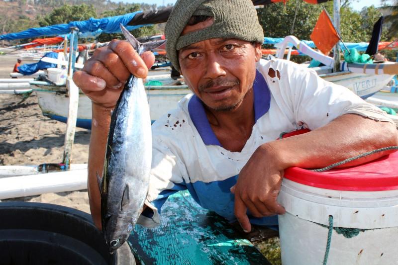 Lombok portrait pêcheur
