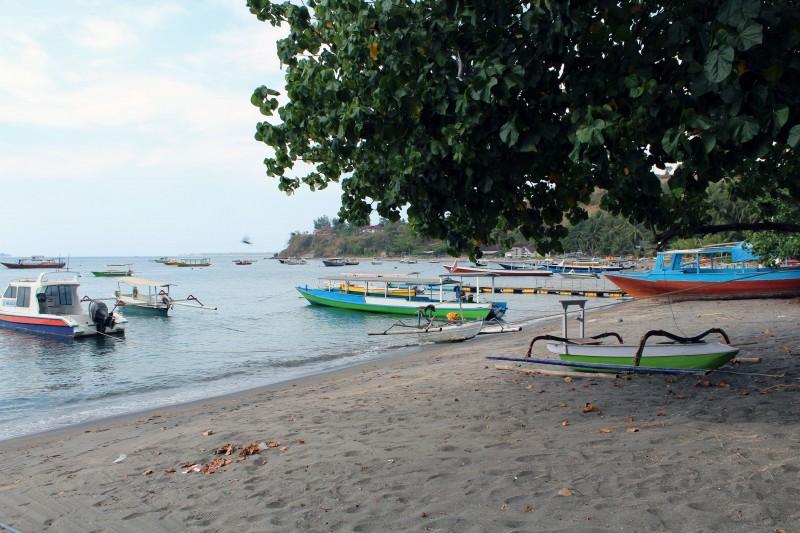 Lombok plage jukung