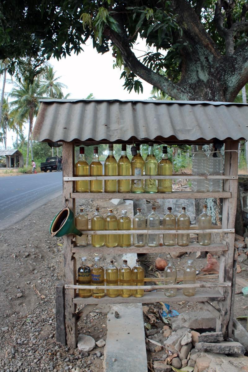Lombok station essence