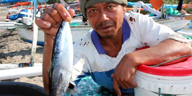 Les pêcheurs de Senggigi