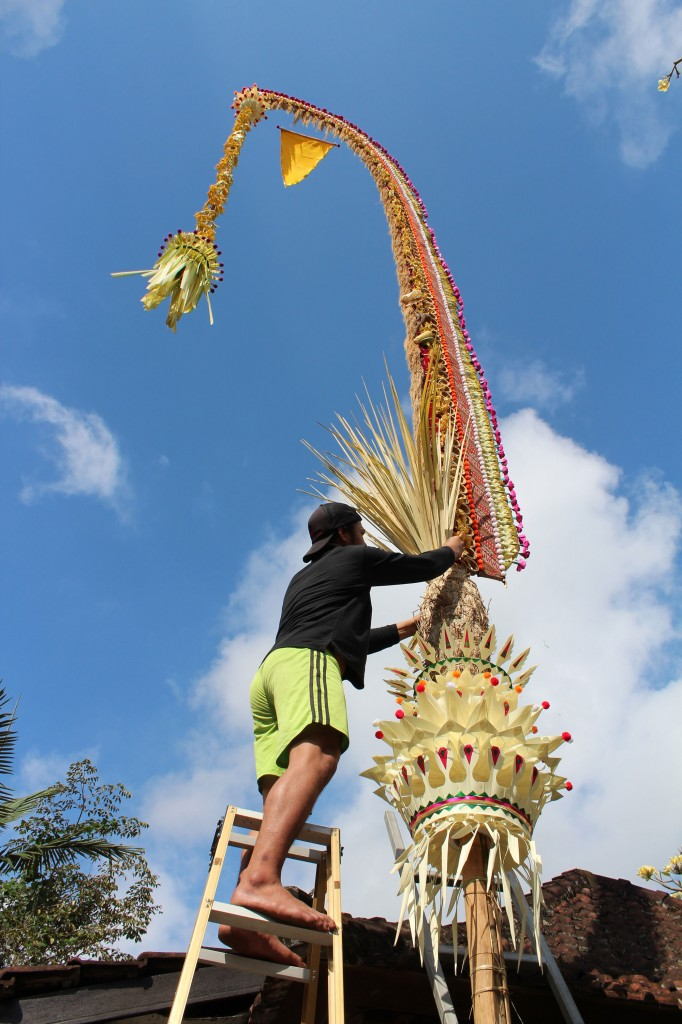 Préparation Galungan Bali