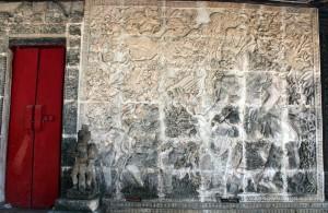 Maison de Le Mayeur détail mur