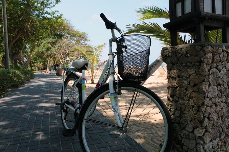 Sanur à vélo