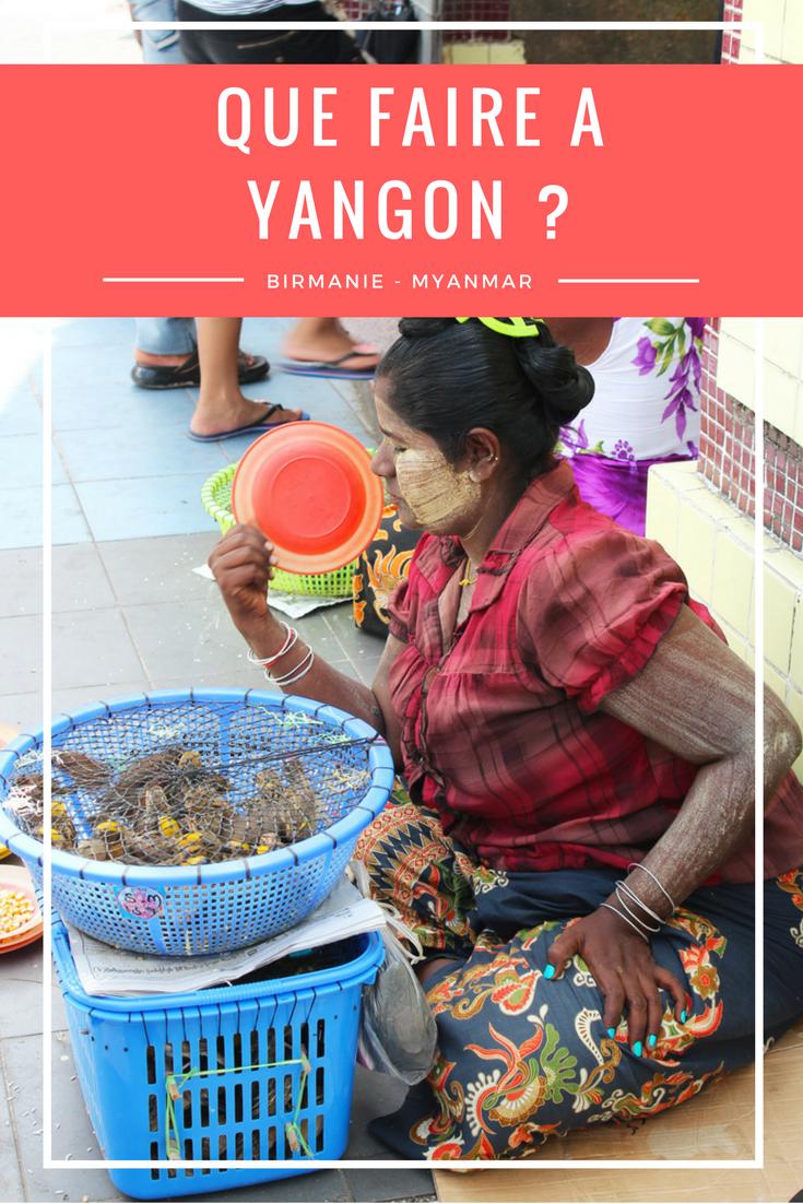 Birmanie Myanmar Yangon