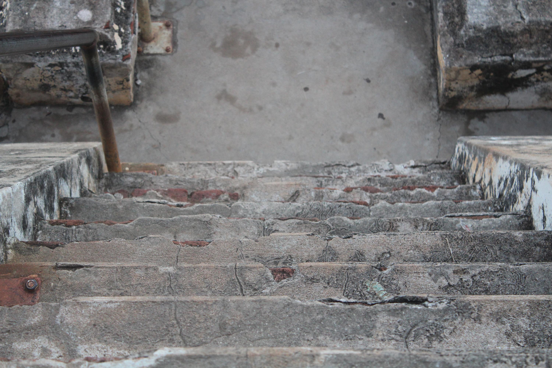 Les escaliers du temple