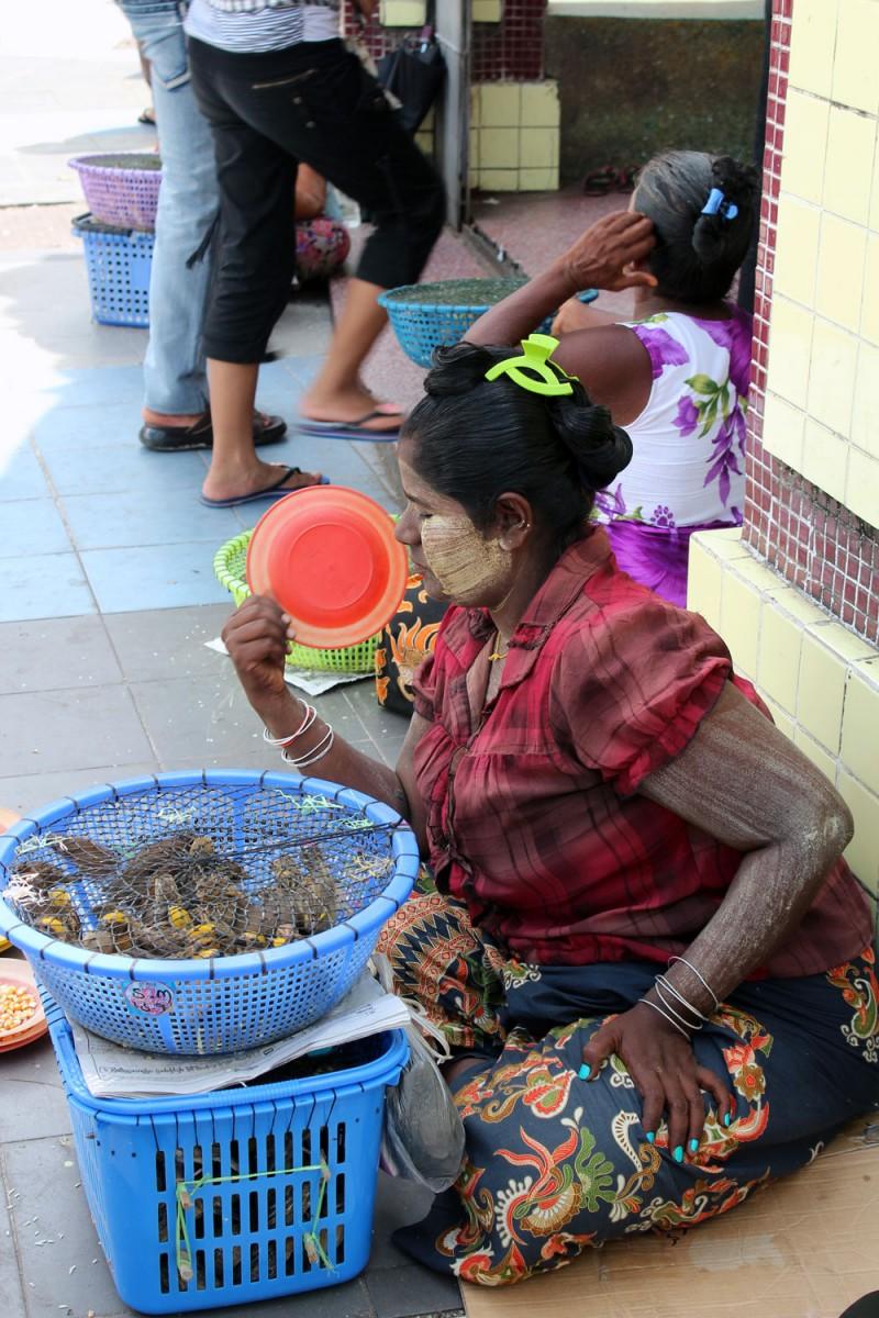 Marché Yangon