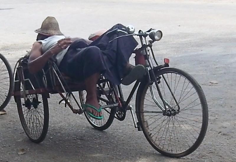 Trishaw Yangon