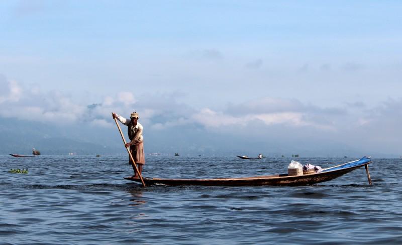 Pêcheur lac Inlé