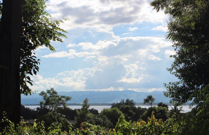 Vue lac Inlé