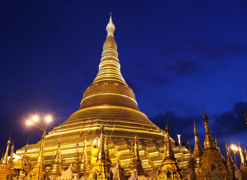 Yangon pagode Schwedagon