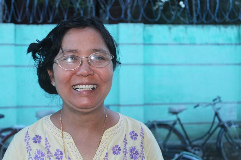 Birmanie femme indépendante