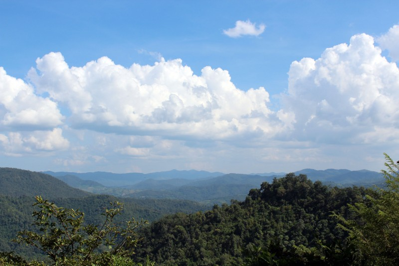 Paysage nord Thailande