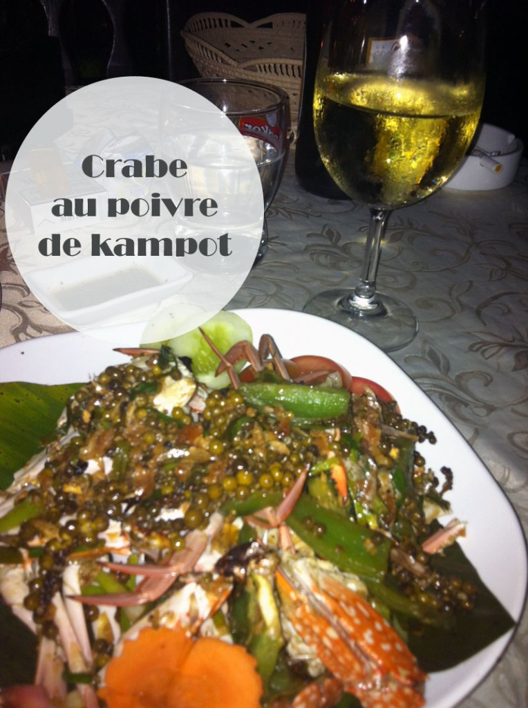 Crabe au poivre de Kampot