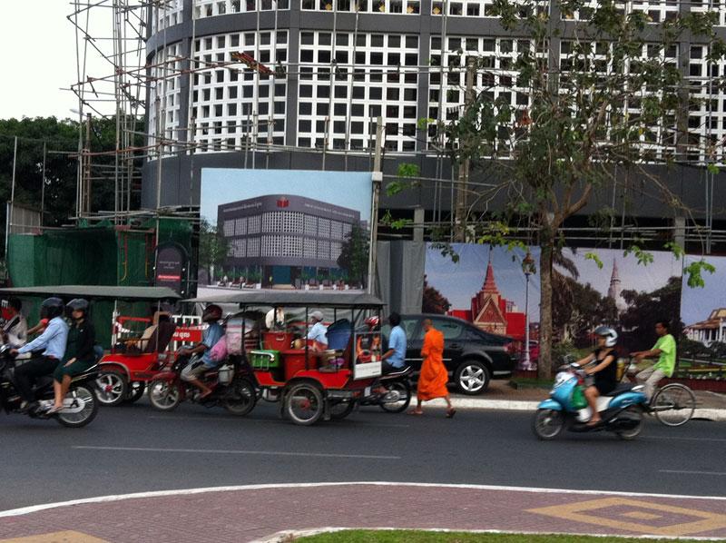 Phnom penh nouveau édifice