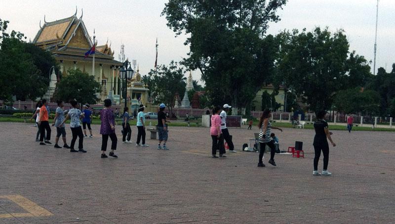 Phnom Penh danse au Parc