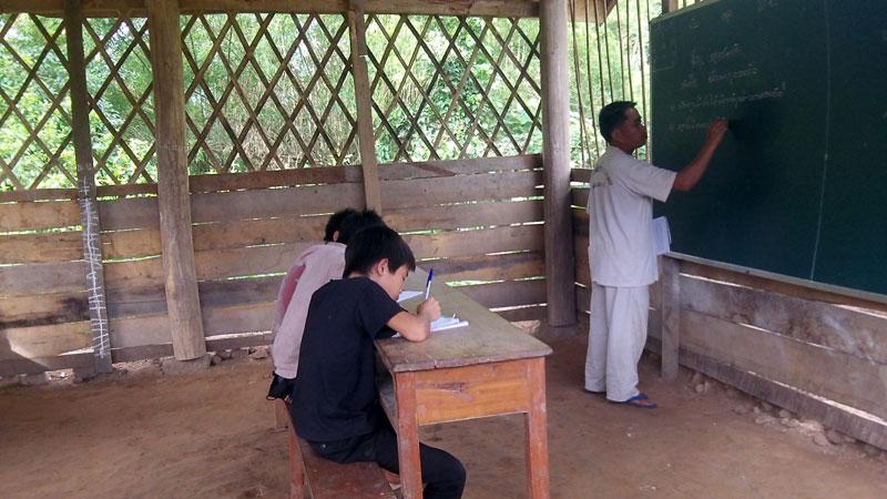 Luang Namtha école