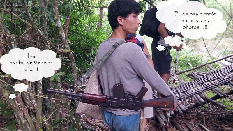 Trek Laos guide local