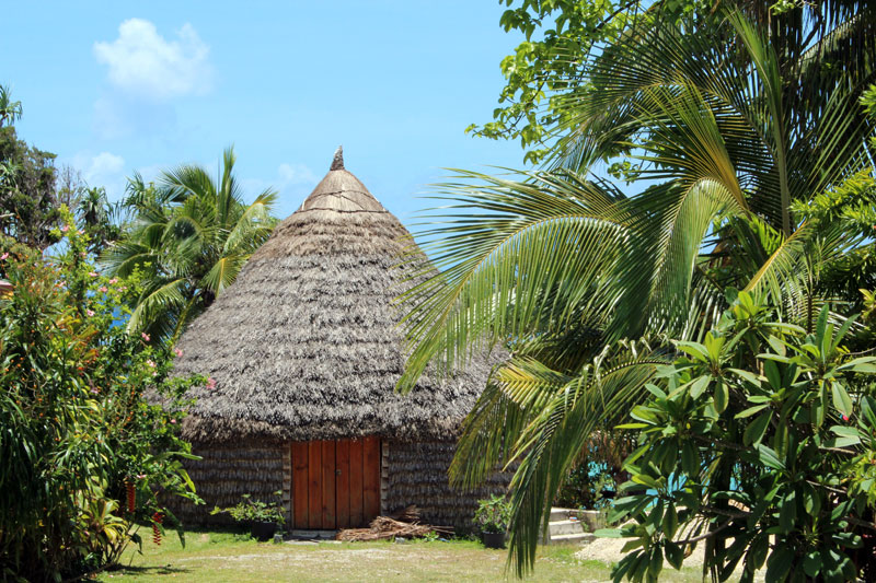 Lifou case traditionnelle