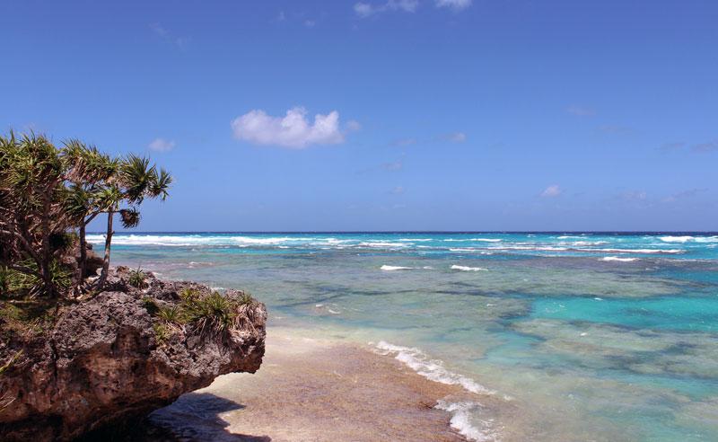 Nouvelle Calédonie Lifou plage