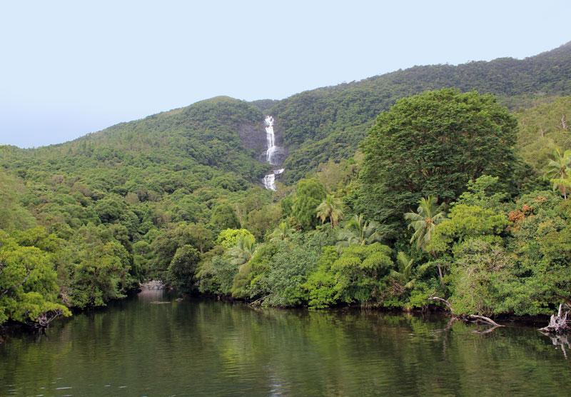 Nouvelle Calédonie cascade Tao