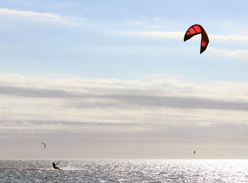 Nouvelle Calédonie kitsurf