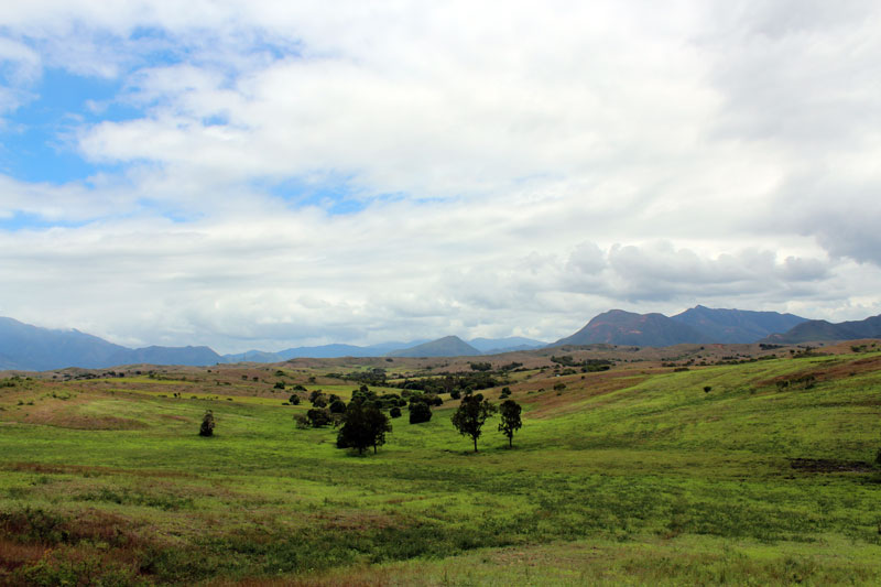 Nouvelle Calédonie paysage intérieur