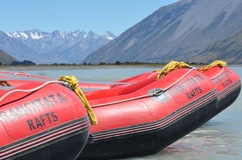 Rafting sur Rangiata