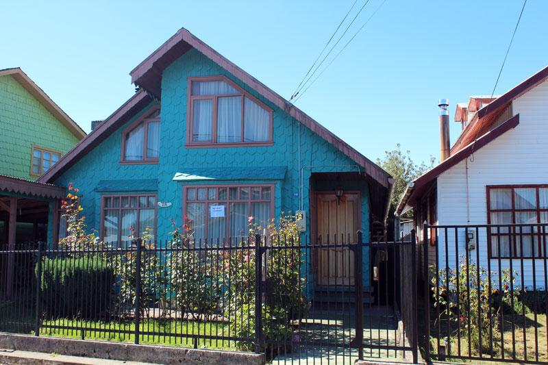 Ile de chiloe maison traditionnelle