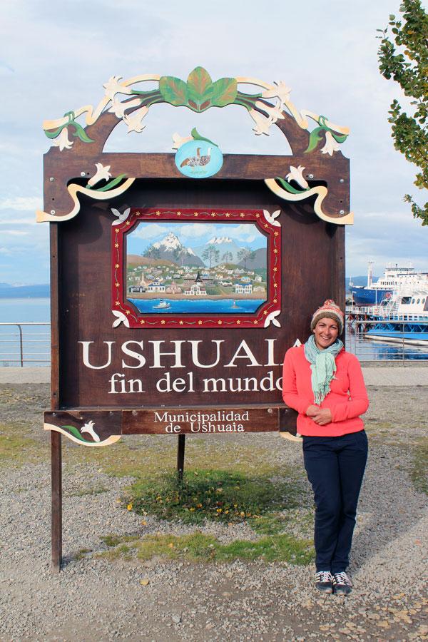 Ushuaia panneau