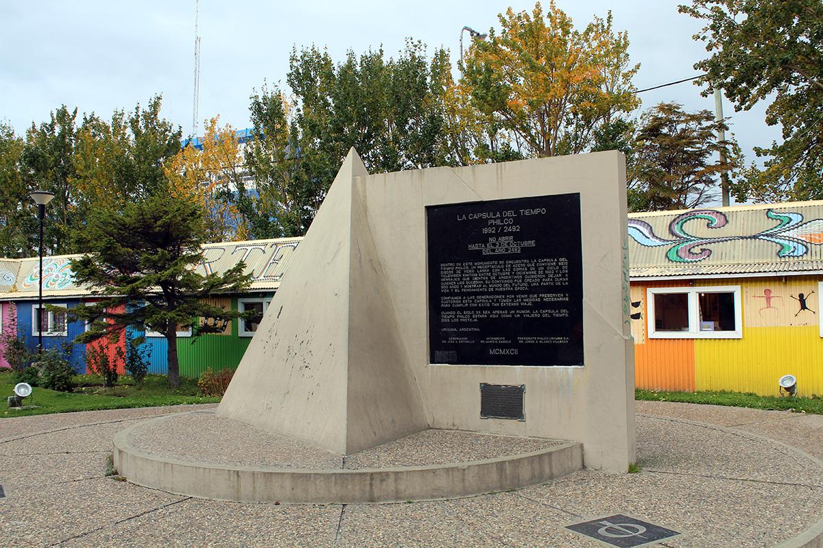 Ushuaia capsule du temps