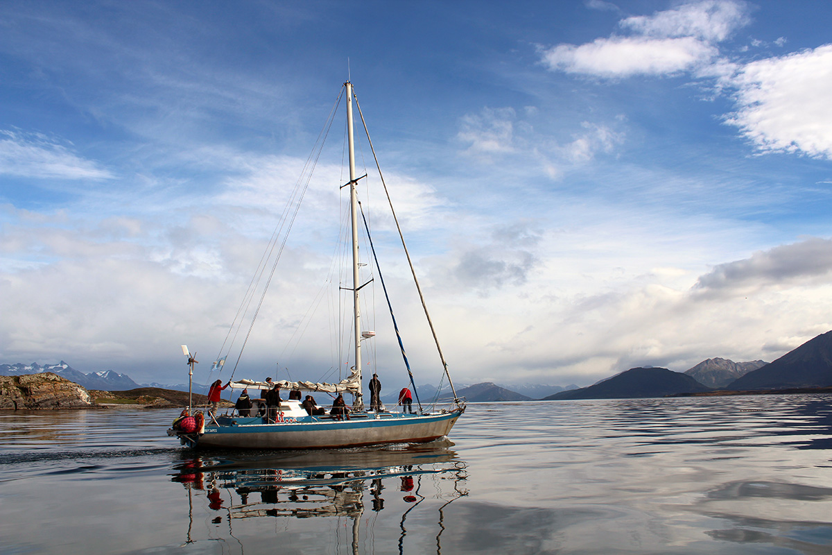 Ushuaia voilier canal beagle