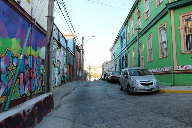 Visiter Valparaiso Chili