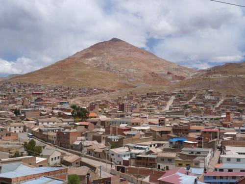 Potosi cerro Ricco