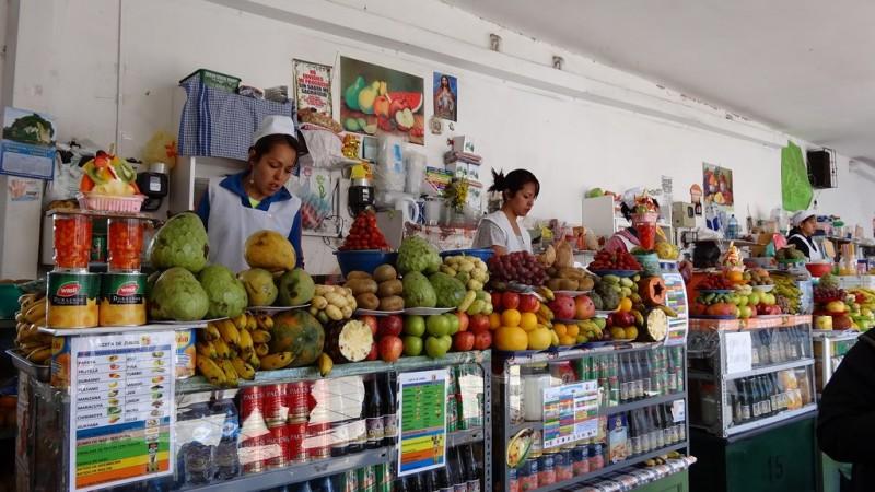 Marché central de Sucre