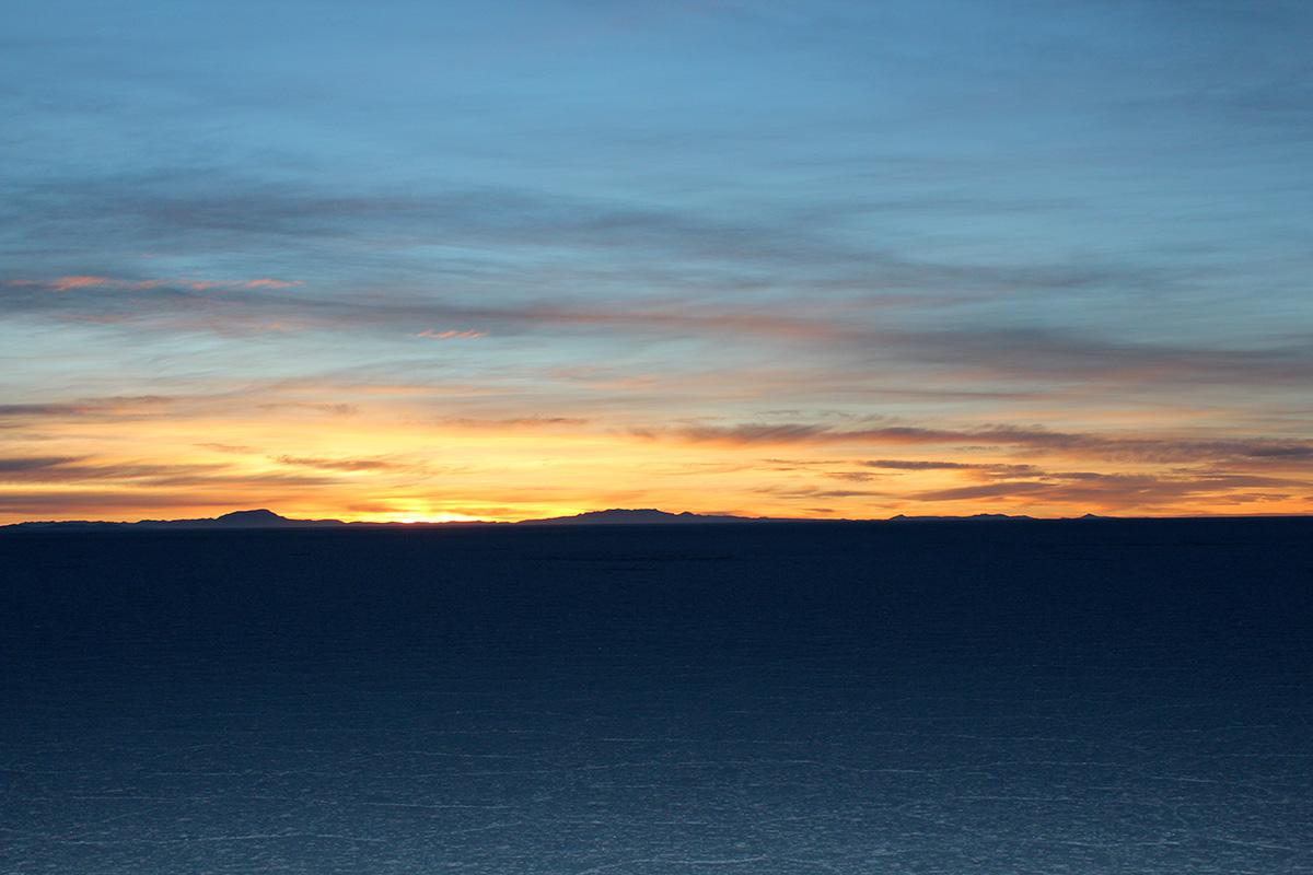 Salar lever soleil
