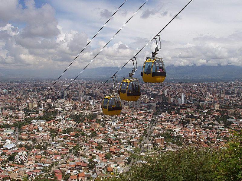 Téléphérique Cochabamba