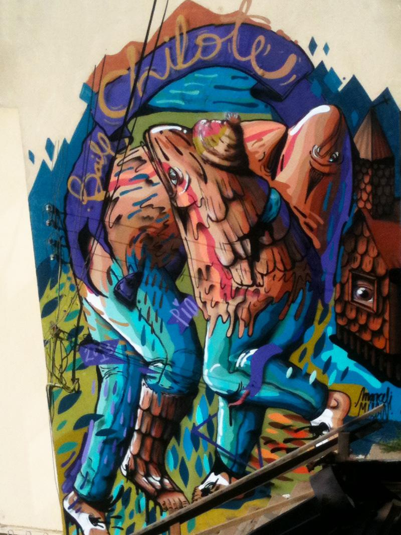 art urbain à Valparaiso