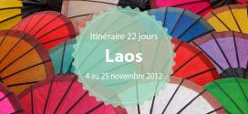 Itinéraire au Laos