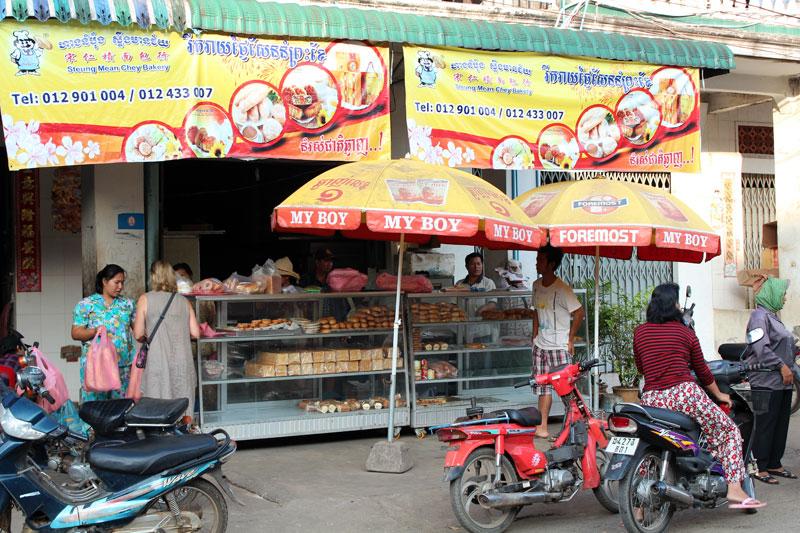 Kompong Cham boulangerie
