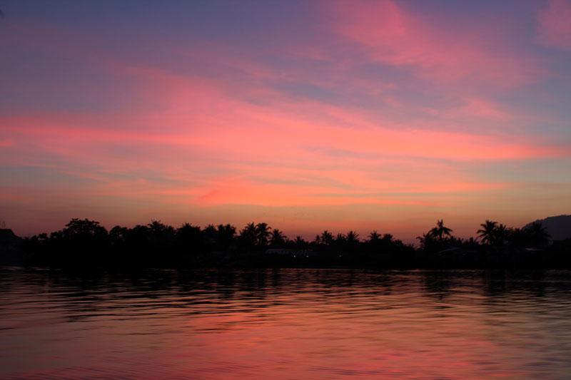 Croisière coucher du soleil