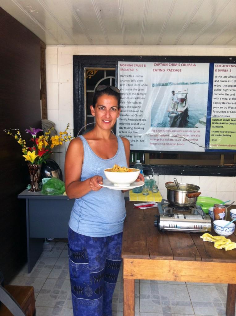 Cours de cuisine à Kampot