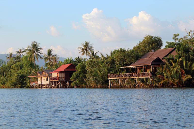 Croisière sur le fleuve à Kampot