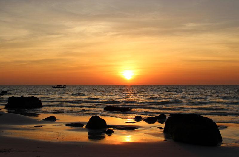 Koh Rong coucher de soleil