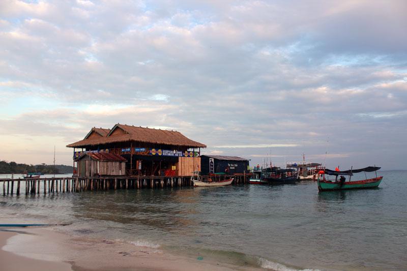 Koh Rong embarcadère