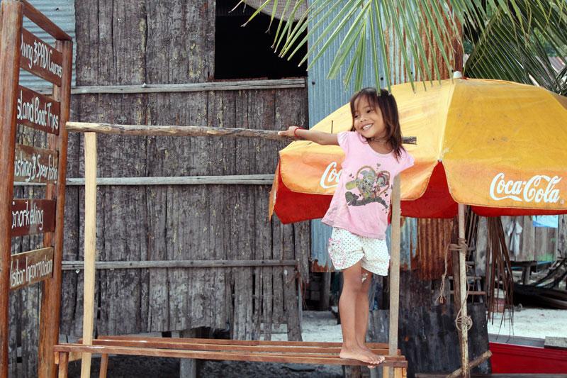 Koh Rong fillette