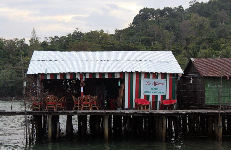 Koh Rong la Mamie restaurant