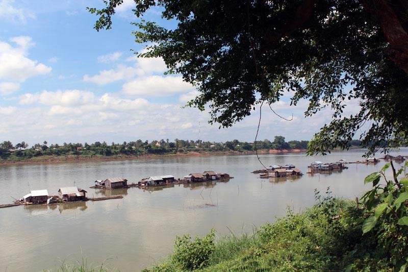 Koh Trong village sur pilotis