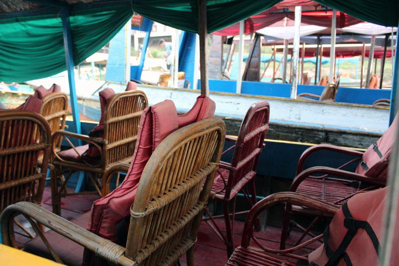 Lac Tonle bateau